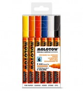 Molotow One4All Markers 2mm Basic-set1