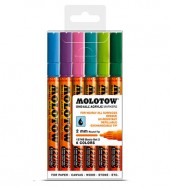 Molotow One4All Markers 2mm Basic-set2