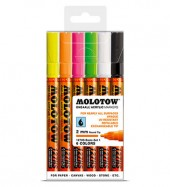 Molotow One4All Markers 2mm Neon-set
