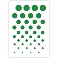 Cirkel patroon sjabloon stencil