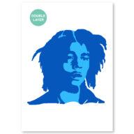 Bob Marley stencil, idool sjabloon
