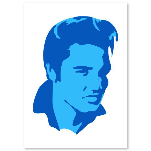 Elvis Presley stencil, idool sjabloon