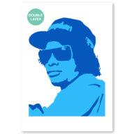Eazy-E stencil, idool sjabloon
