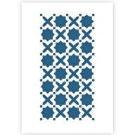 Marokkaanse tegel, patroon sjabloon