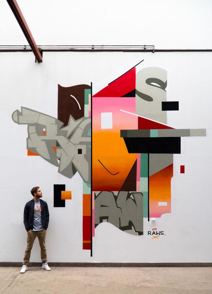 rawsome graffiti art wall
