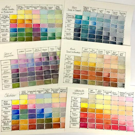 Daniel Smith Watercolor Half-Pans waterverf set