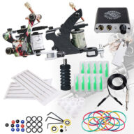 Tattoo machine met tattoo naalden en tattoo inkt voor tattoo sleeve, tattoo hand, tattoo tribal, tattoo letters, tattoo cover up, tattoo onderarm, tattoo arm, tattoo pols, tattoo enkel, tattoo been en alle soort tatoeages.