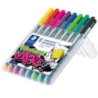 Staedtler Lumocolor 318 permanent pen set in pen case pen kopen pen drawing pen uit kleding pen verwijderen gaat niet pen shop