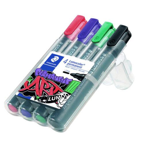 Staedtler Lumocolor 352 permanent pen set in pen case pen kopen pen drawing pen uit kleding pen verwijderen gaat niet pen shop