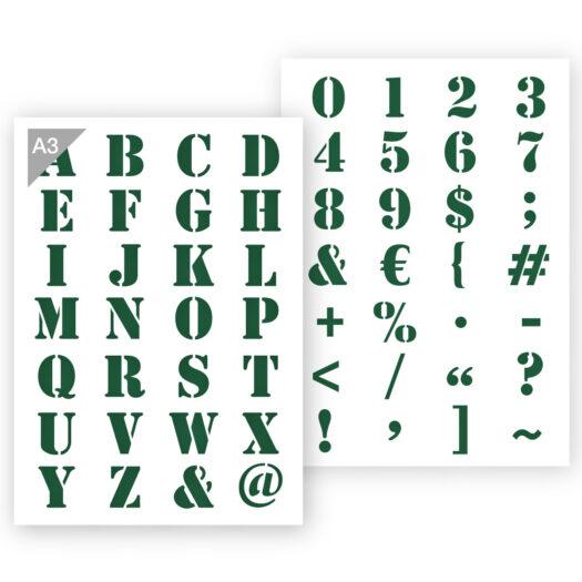 A3 letter sjabloon
