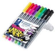 Staedtler Lumocolor 31 permanent pen set in pen case pen kopen pen drawing pen uit kleding pen verwijderen gaat niet pen shop