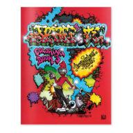 Urban Media Graffiti Coloring Book #3 Colouring Book kleurboek kleurplaat