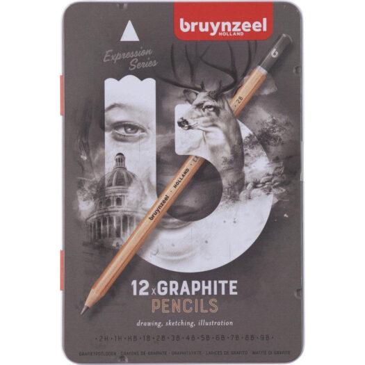 Bruynzeel potloden kopen tekenpotloden grafietpotloden in blik